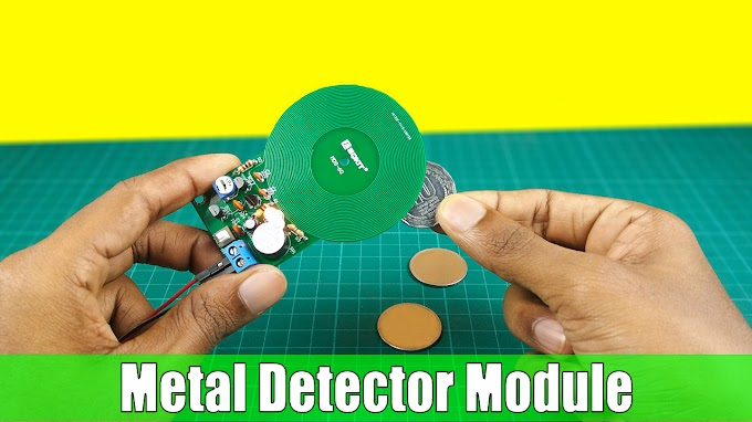 DIY metal detector kit assembly | Step by step instructions