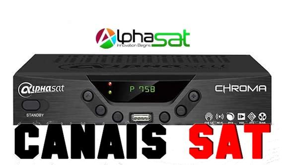 Alphasat Chroma Nova Atualização V11.07.02.S55 - 03/08/2019