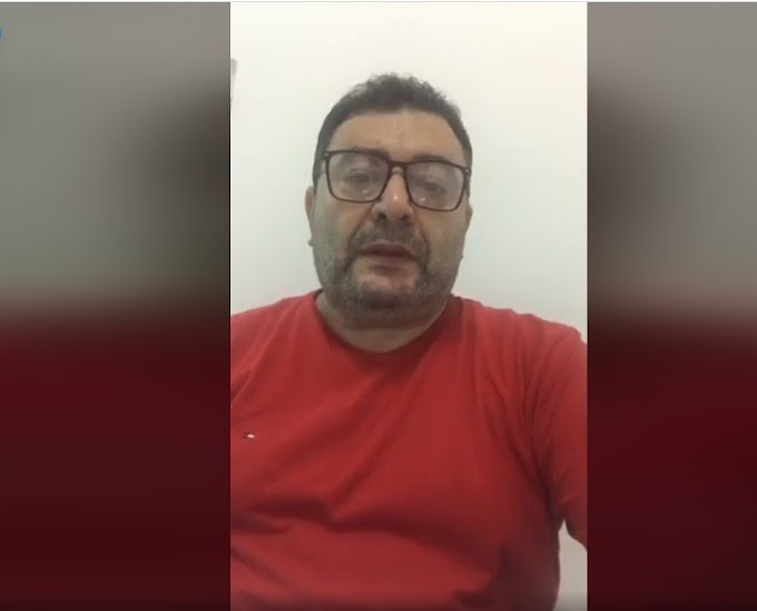Prefeito de Soledade faz live de dentro de hospital e fala sobre seu estado de saúde - Veja vídeo
