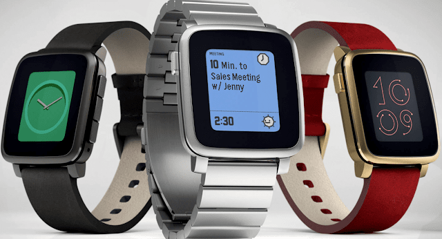 Pebble Time Smartwatch simple cheap