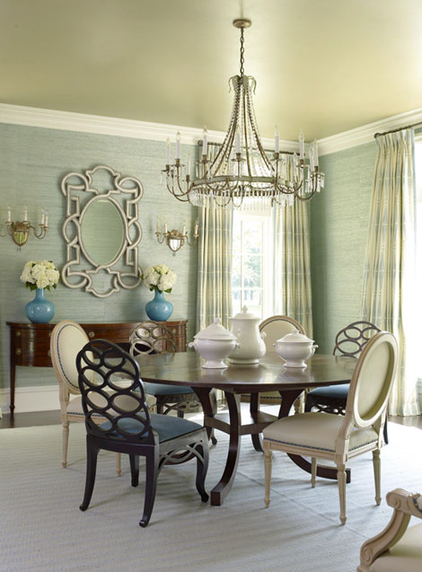 Victoria Dreste Designs: Round Dining Tables
