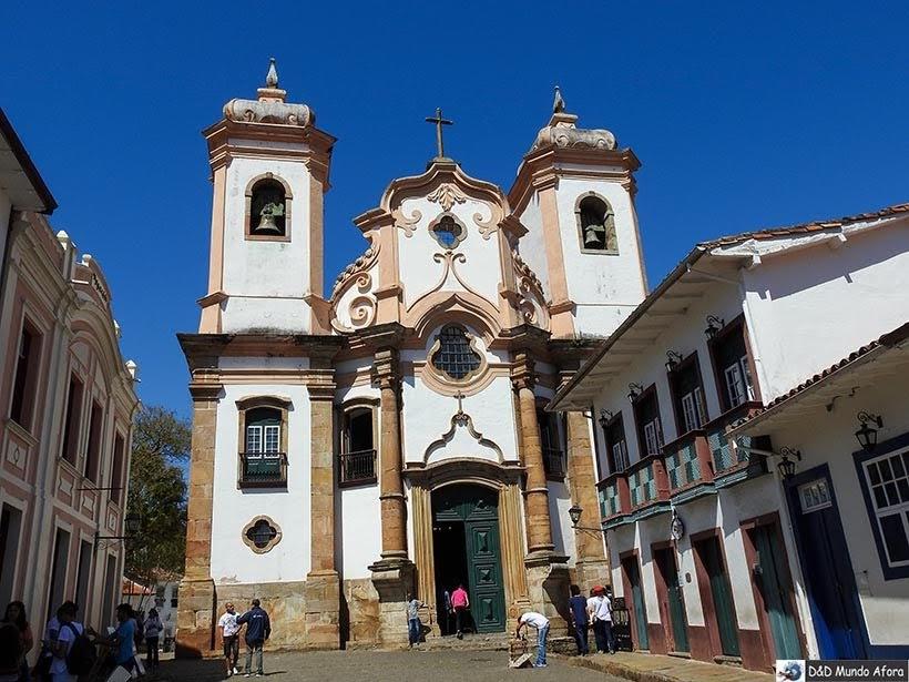 Igreja de Nossa Senhora do Pilar - O que fazer em Ouro Preto (MG)