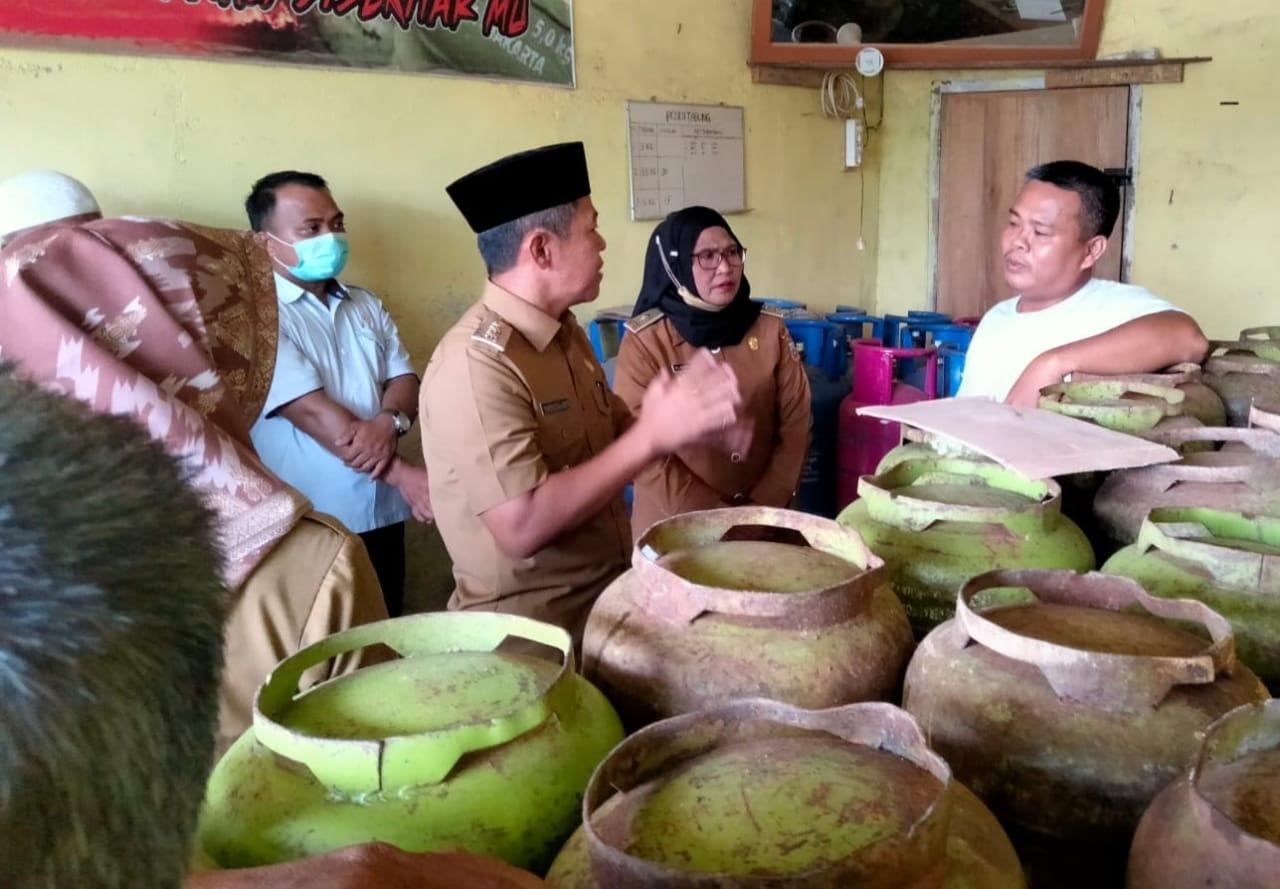 LPG Melon Langkah dan Mahal, Wabup Muratara Sidak ke Lapangan.