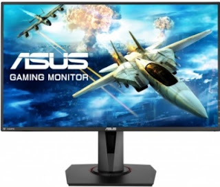 "ASUS VG278Q 27"" Full HD 1080p 144Hz 1ms Eye Care Gaming LED-Lit Monitor"