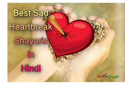 Best Sad Heartbreak Shayaris in Hindi with Images