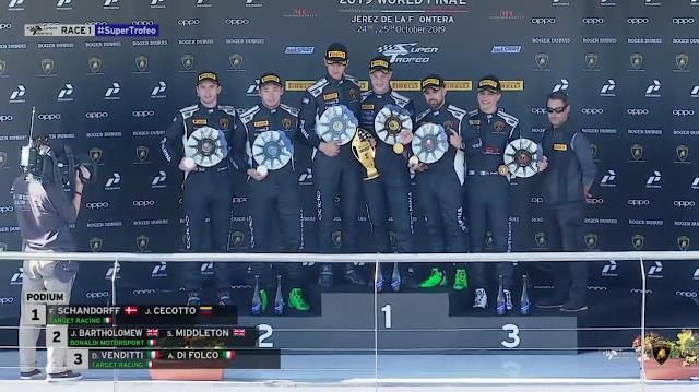 AUTOMOVILISMO: Jonathan Cecotto triunfa en la apertura Anduluza venció en la carrera 1 del Lamborghini Súper Trofeo