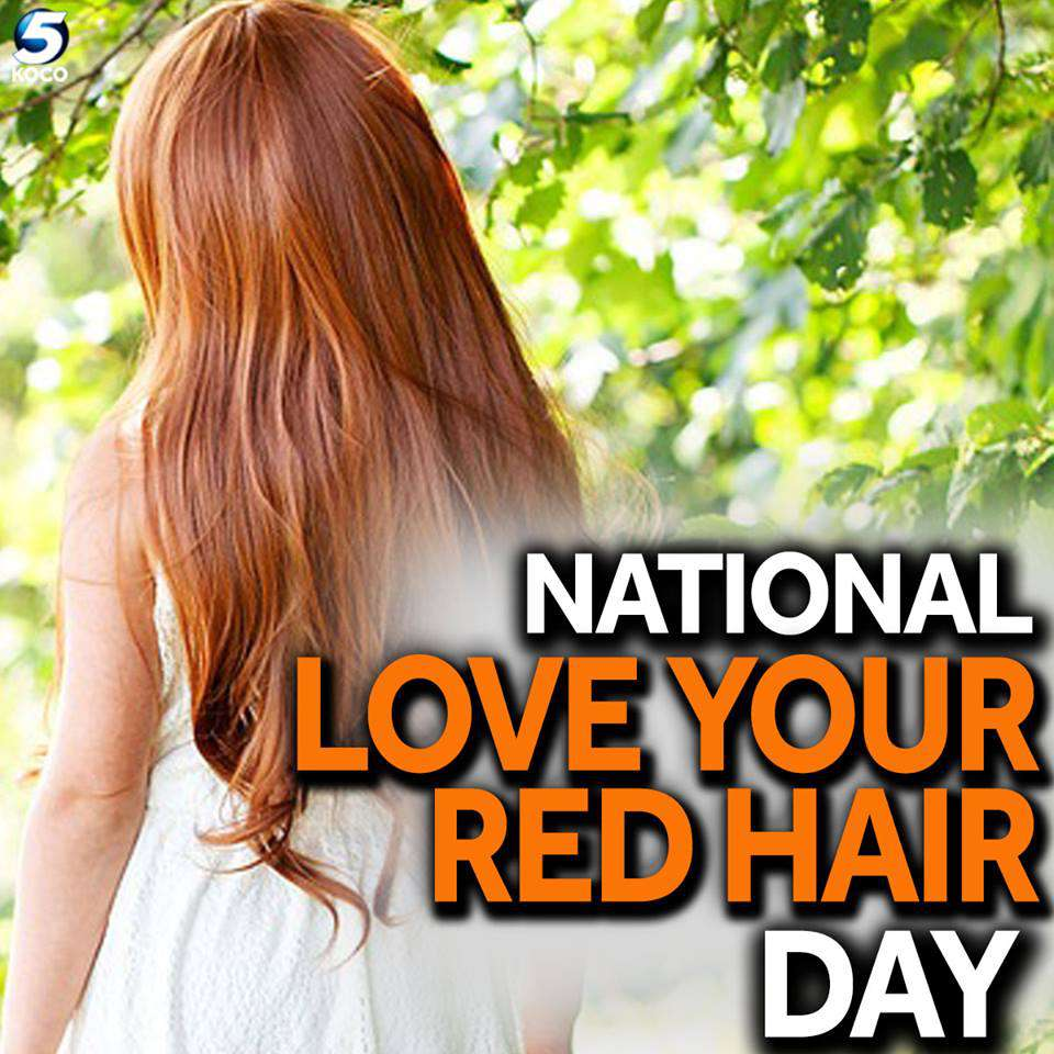 National Love Your Red Hair Day Wishes Awesome Images, Pictures, Photos, Wallpapers