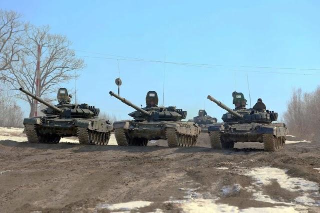 Ο ρωσικός στρατός ξεκινά μαζική επιθεώρηση «ετοιμότητας μάχης» καθώς οι εντάσεις στην Ουκρανία ανεβαίνουν