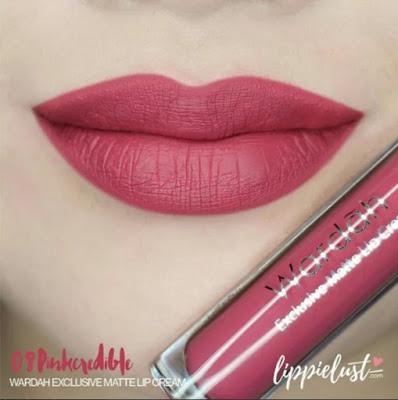 Wardah Exclusive Matte Lip Cream