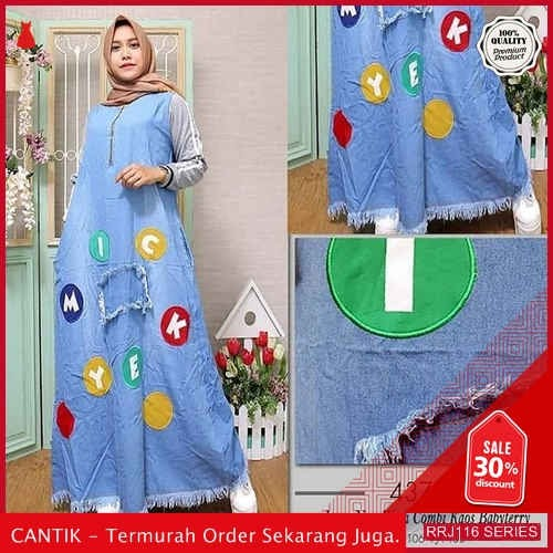 Jual RRJ116D127 Dress Miki Jeans Wanita Blue Is Terbaru BMGShop