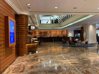 Hilton Singapore hotel lobby