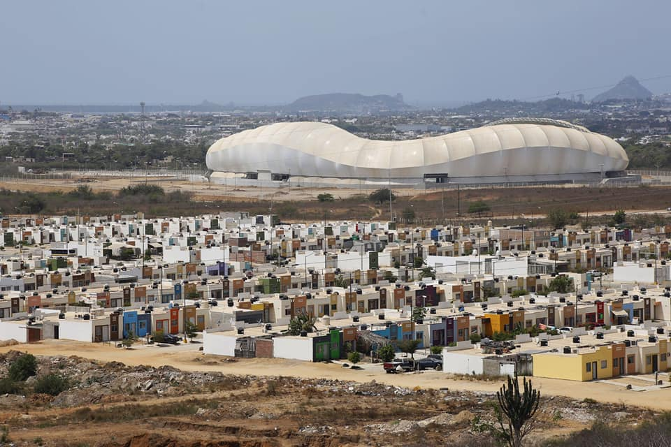El Estadio de Mazatlan el nuevo monumento a la corrupción