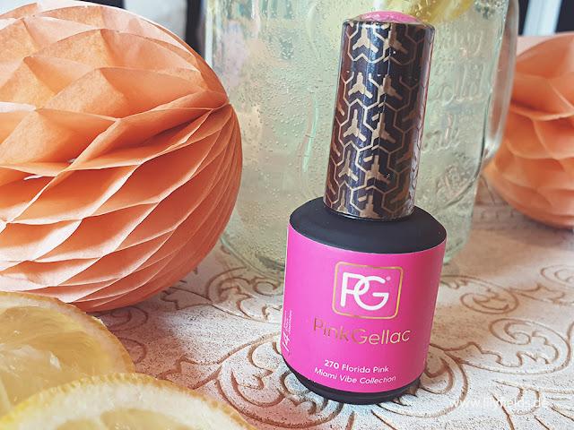 Pink Gellac - 270 Florida Pink - UV Nagellack