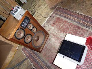 Pioneer CS-88A Loudspeaker - Bass Response Test Setup