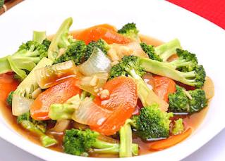 Resep Brokoli Wortel