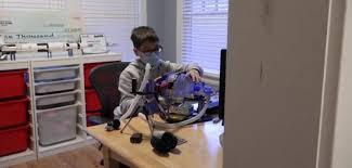 Illinois 12-year-old builds ventilator using Lego parts interesting news 