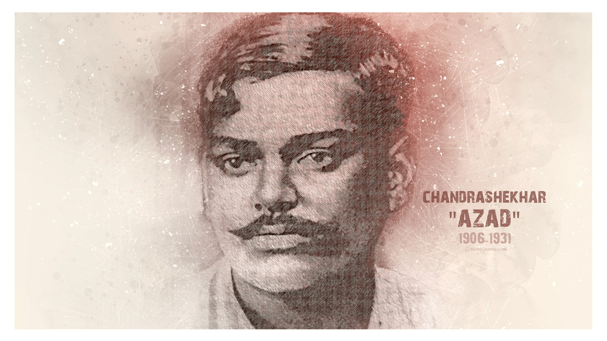 chandra shekhar azad original photo