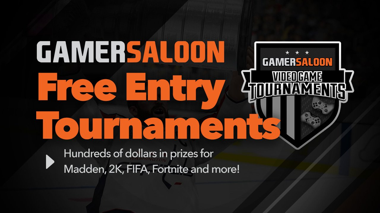online gaming competitions with GamerSaloon