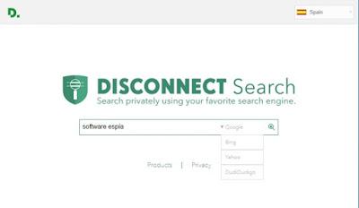 Mesin pencari Disconnect