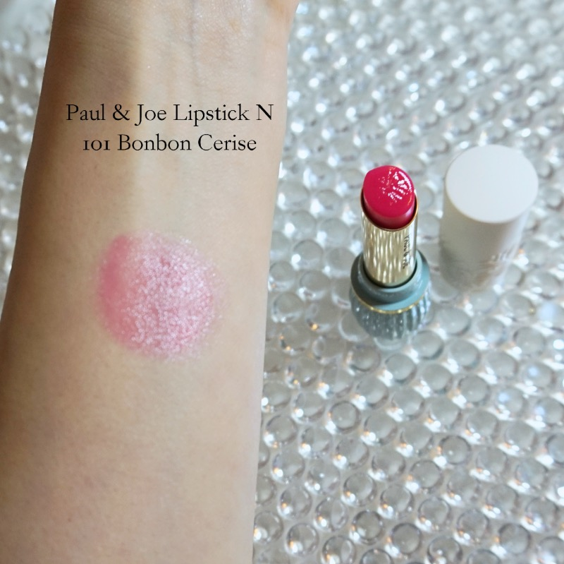 Paul & Joe lipstick 101 Bonbon Cerise swatch