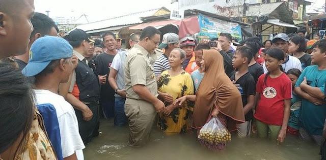 Lieus Sungkharisma: Banjir Jakarta Cara Tuhan Menguji Anies Jadi Presiden
