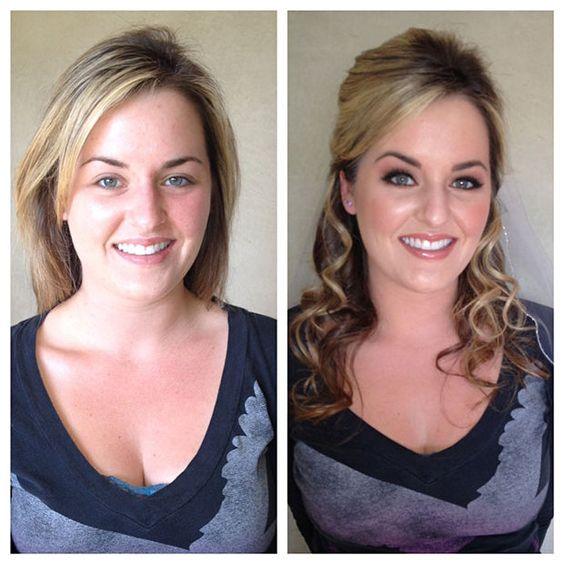 30+ Before & After Photos Show The Magic of Makeup