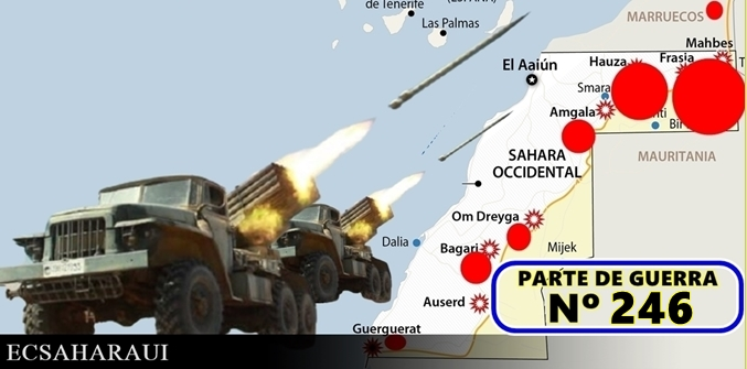 🔴 Parte de Guerra Nº246. Guerra del Sáhara Occidental.