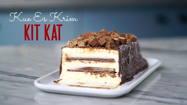 Resep Es Krim Kit Kat
