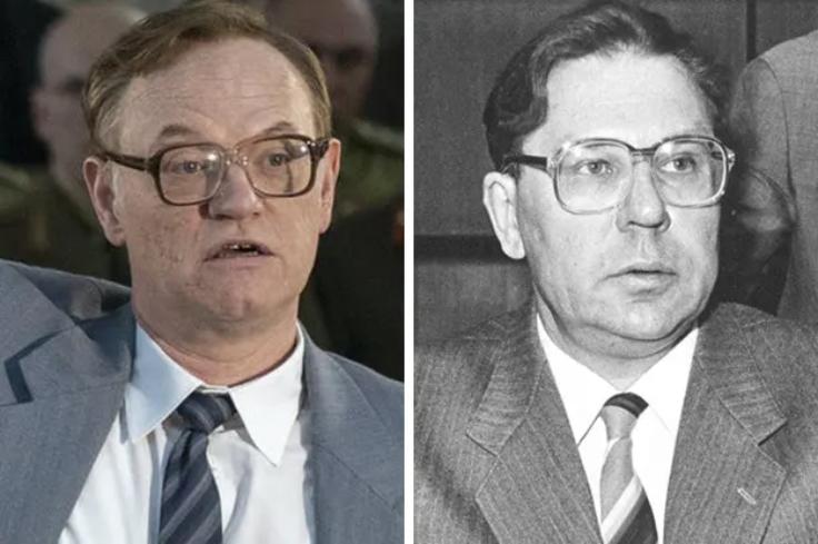 reparto y personajes de Chernobyl