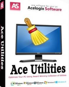 برنامج ace utilities لتنظيف جهاز الكمبيوتر اخر اصدار 2017