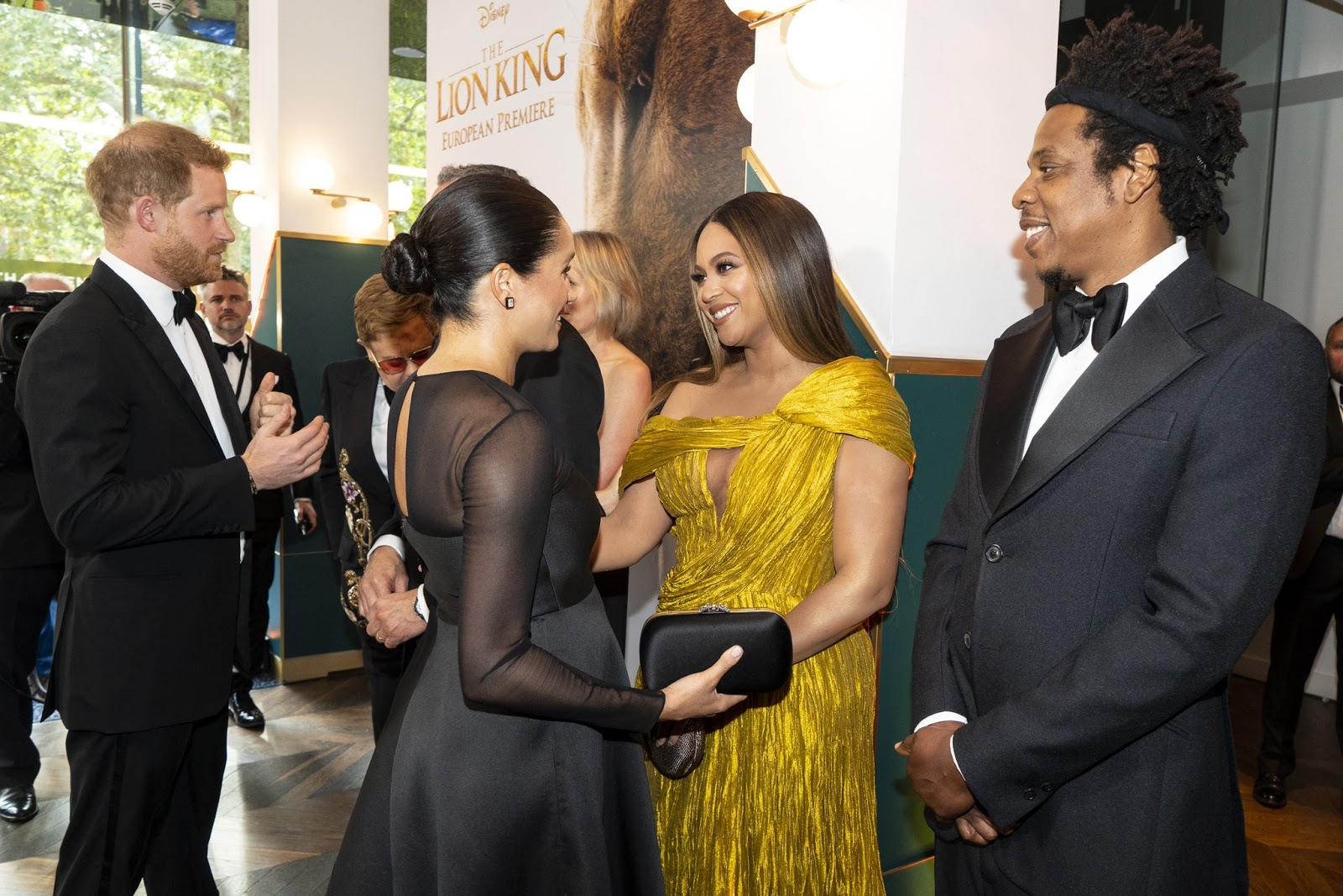 Meghan Markle meeting Beyoncé is the only thing that matters today