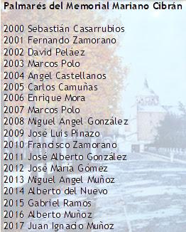 Pesca Aranjuez Memorial Mariano Cibrán