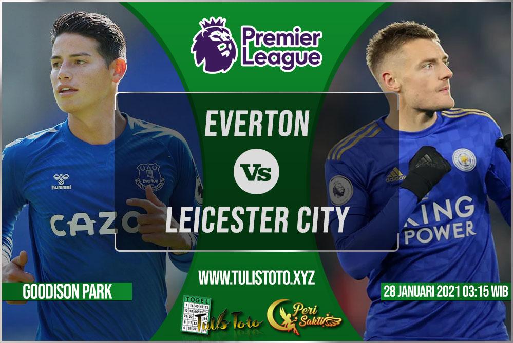 Prediksi Everton vs Leicester City 28 Januari 2021