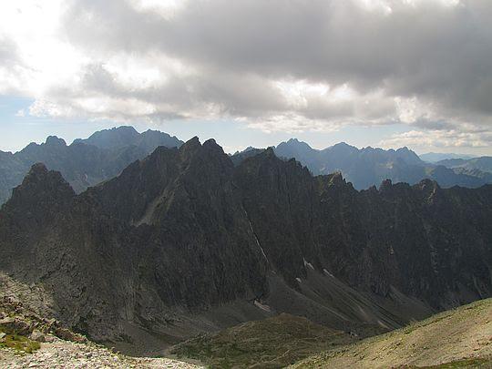 Dolina Jaworowa (słow. Javorová dolina).