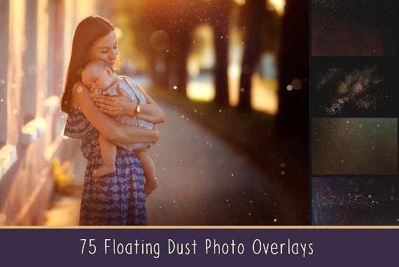 75 Floating Dust Overlays