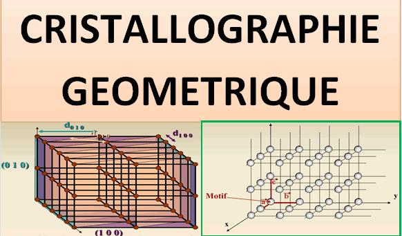 cours Cristallographie géométrique