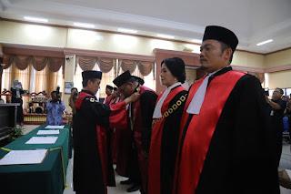 Wakil Bupati Lumajang Hadiri Acara Pengambilan Sumpah