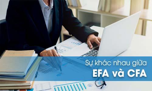 Sự giống nhau và khác nhau giữa EFA và CFA