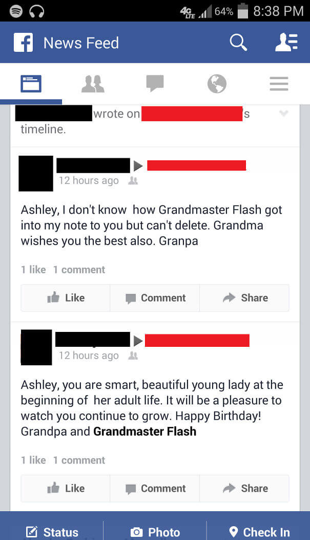 25 Hilarious Times Our Grand Parents Failed To Use Social Media - Grandpa And Grandmaster Flash