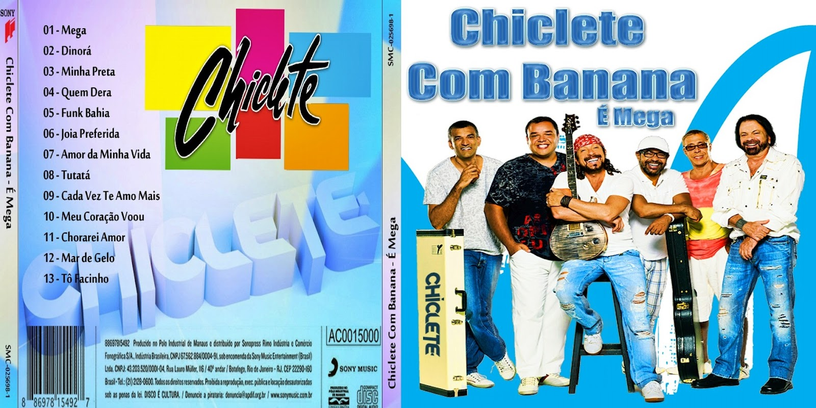 novo cd de chiclete com banana 2012