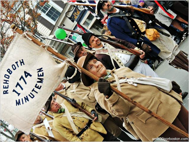 Desfile de Acción de Gracias en Plymouth, Massachusetts