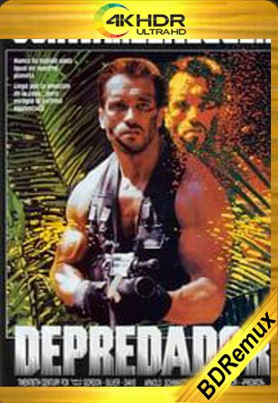 Depredador (1987) [1080p BD REMUX 4K HDR] [Latino-Inglés] [LaPipiotaHD]