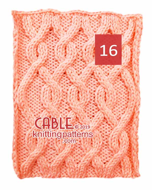 Cable Knitting Pattern 16