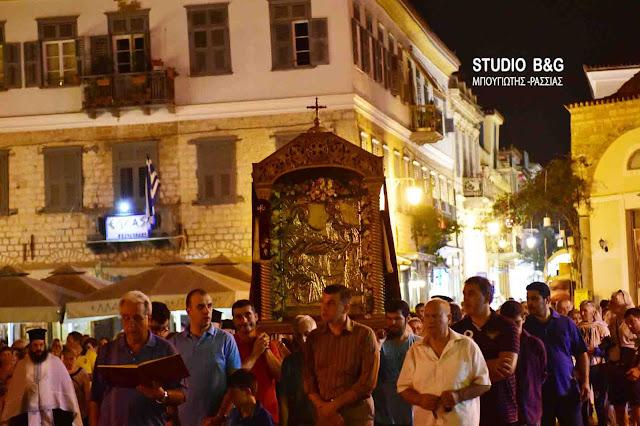 Με λαμπρότητα το Ναύπλιο γιορτάζει το Γενέσιον Της Θεοτόκου (βίντεο)