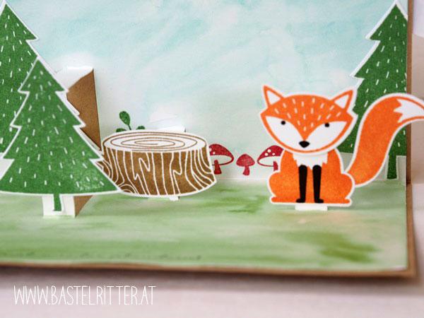Foxy Friends Stampin up Bastelritter