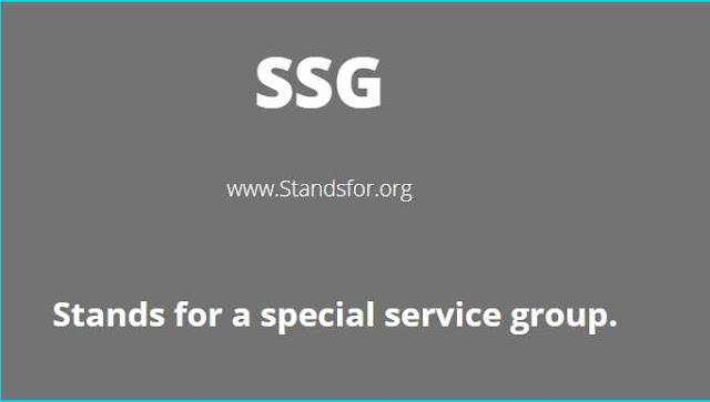 SSG-special service group