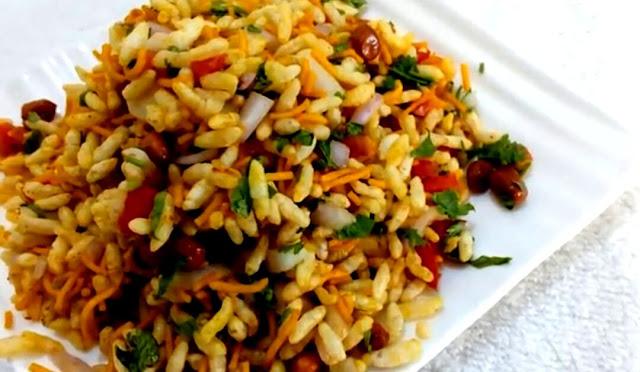 How to make bhel puri