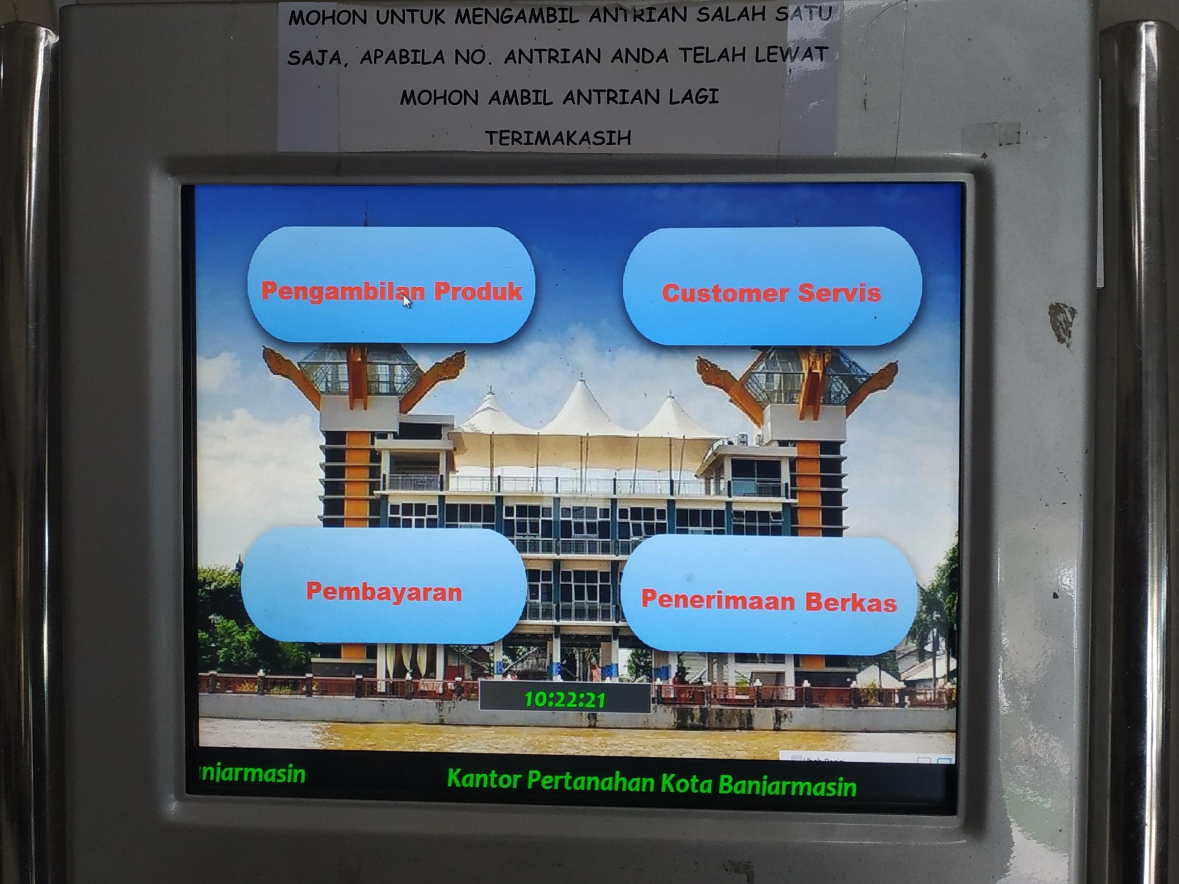 Badan-Pertanahan-Nasional-Kota-Banjarmasin-MesinAntreean.jpeg (2400×1800)