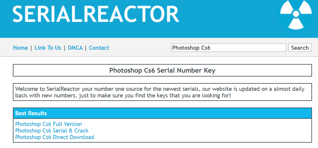 Serial Number And License Key Search Engine