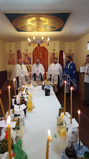Sfantul Maslu, Parohia Leganes, Madrid, Spania